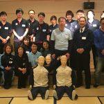 第2回ステップアップ研修会『支援に役立つ救急法』報告